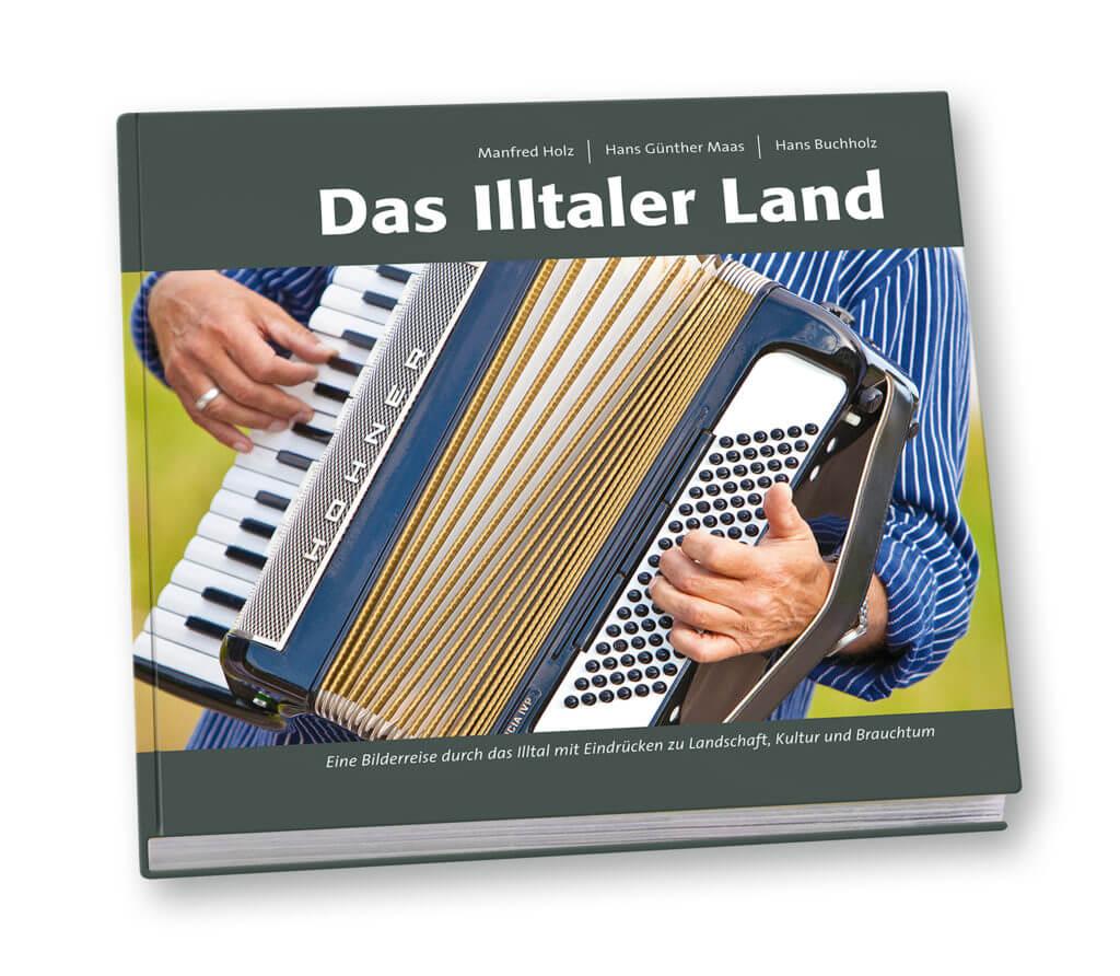 "Cover Bildband ""Das Illtaler Land"""