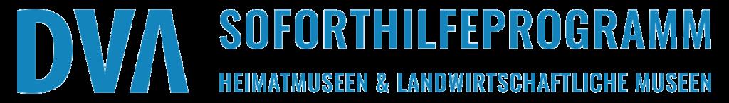 Logo Soforthilfeprogramm Heimatmuseen und landwirtschaftliche Museen